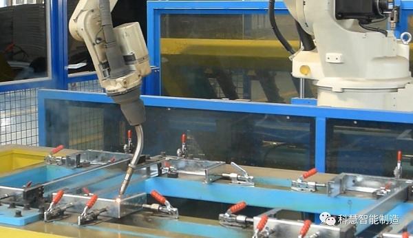 科慧智能制造精品案例全解析:制冷设备焊接自动化工作站